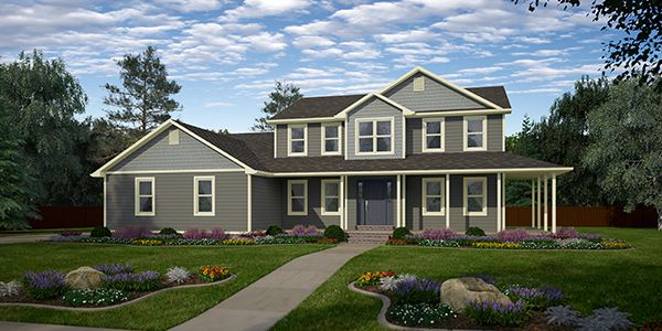 Grand Madison Two Story Floor Plan