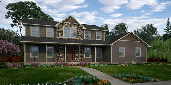 Morgan Two Story Floor Plan